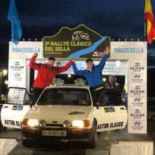 Los asturianos Severino Suárez y Raúl Gutiérrez se imponen en el II Rallye Clásico del Sella