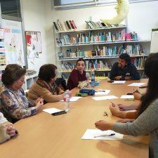 Taller de escritura en el Club de Lectura de Onís