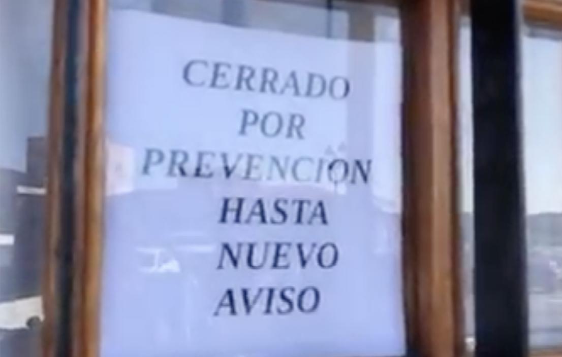 La hostelería seguirá cerrada en Asturias al menos hasta la próxima semana