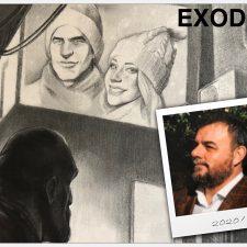 El hotelero llanisco José Alberto Concha publica 'Exodus', su primera novela, policiaca y de ciencia ficción