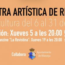 La V Muestra Artística de Ribeseya reúne a ocho creadores del concejo