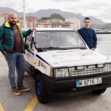 Dos riosellanos en busca de aventura solidaria en la Panda Raid de Marruecos