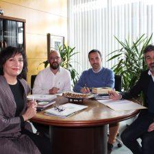 Primer contacto de SEO/BirdLife Asturias con el consejero de Desarrollo Rural