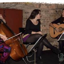 Concierto del trío Amaka en la Casa de Cultura de Ribadesella