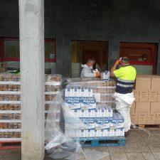 El reparto de alimentos en el concejo de Parres aumentó a 120 familias en la última entrega
