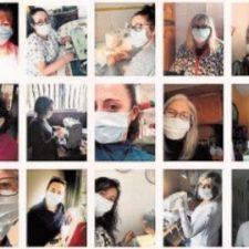 El Ayuntamiento de Cangas de Onís inicia el reparto de mas de tres mil mascarillas confeccionadas por voluntarias del concejo