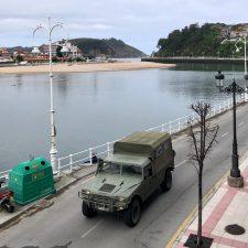 El Ejército de Tierra se incorpora a la vigilancia en villas turísticas como la de Ribadesella
