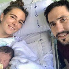 La familia piragüística riosellana crece con la llegada de Miguel, primogénito de Diego Suárez y Cristina Escudero
