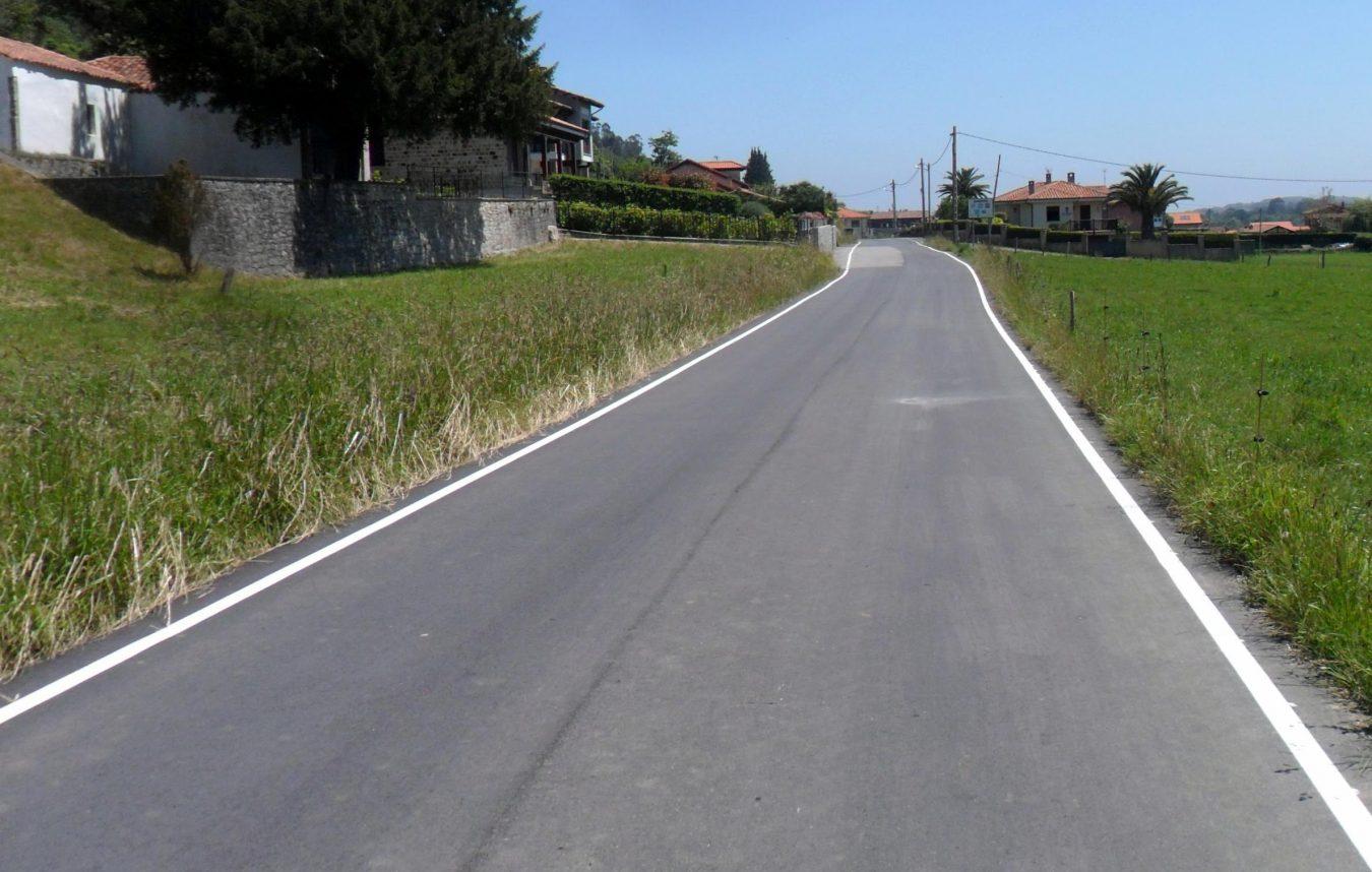 El Ayuntamiento de Llanes da por concluidas las obras de mejora de caminos en Andrín