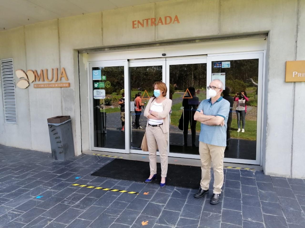 Medidas higiénicas de todo tipo en la reapertura del MUJA y del CAR Tito Bustillo