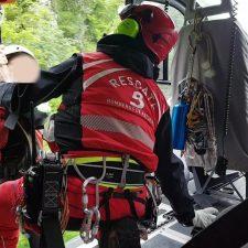 Rescatados dos senderistas que se habían desorientado por el concejo de Piloña