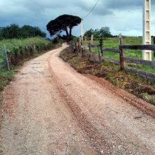 Concluída la mejora de un tramo del Camino de Santiago entre Poo y Celorio, en el concejo de Llanes