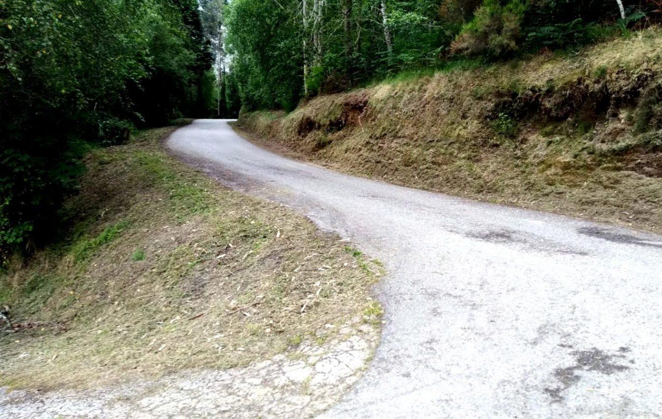 Finalizan las obras de mejora y acondicionamiento en la carretera de Rioseco