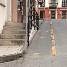 Ciudadanos pide un paso de peatones en la calle Las Palmeras de Colunga para mejorar su seguridad vial