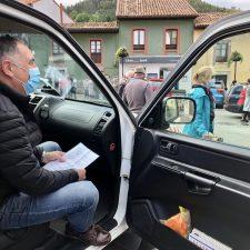 El Valle de San Jorge sale a la calle para reclamar la reapertura de consultorio médico