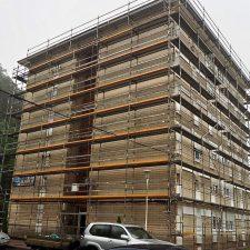 Comienza la tercera fase de rehabilitación de fachadas en el riosellano barrio de El Cobayu