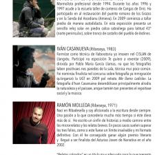 La sala de exposiciones de la Casa de Cultura de Ribadesella reanuda su actividad con una muestra de artistas locales