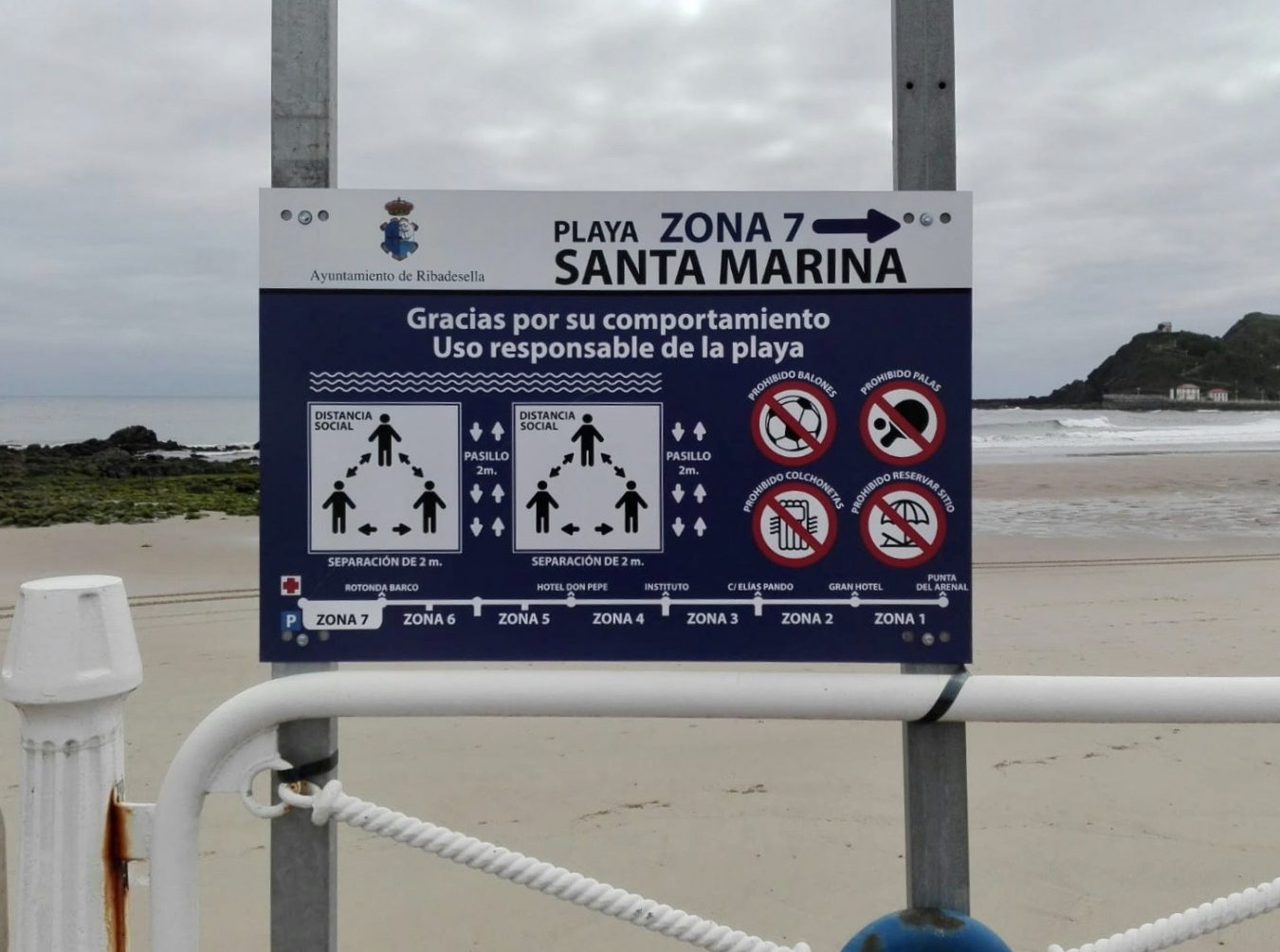 Ante la falta de medios económicos los Ayuntamientos costeros apelarán al uso responsable de las playas