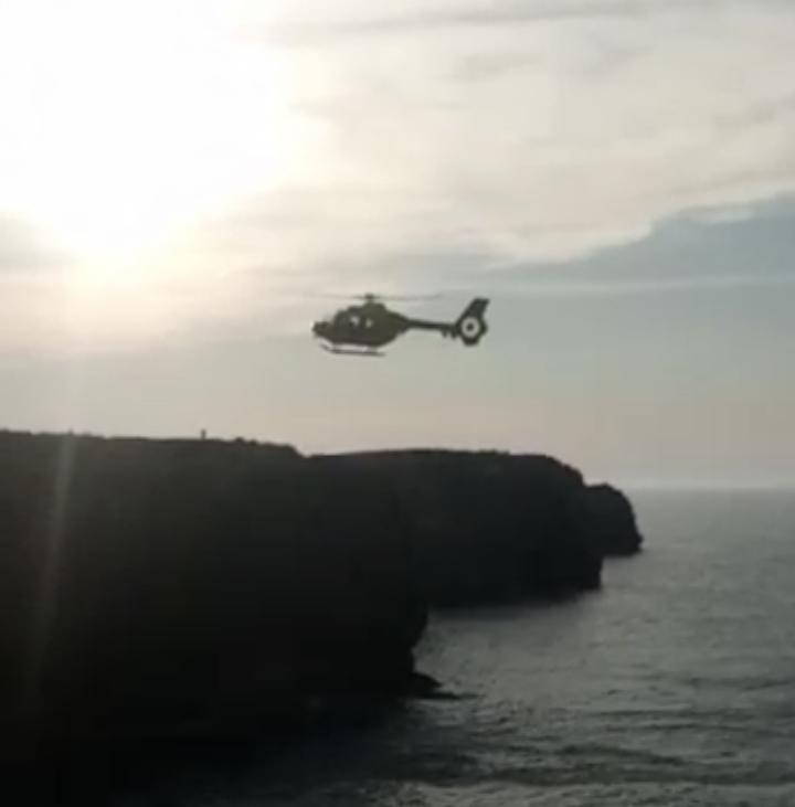 Cruz Roja Ribadesella califica como increíble lo ocurrido este sábado en los acantilados de Cuerres