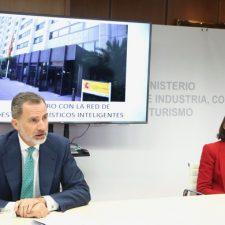 Cangas de Onís se estrena en la Red de Destinos Turísticos Inteligentes con el Rey Felipe como invitado de honor