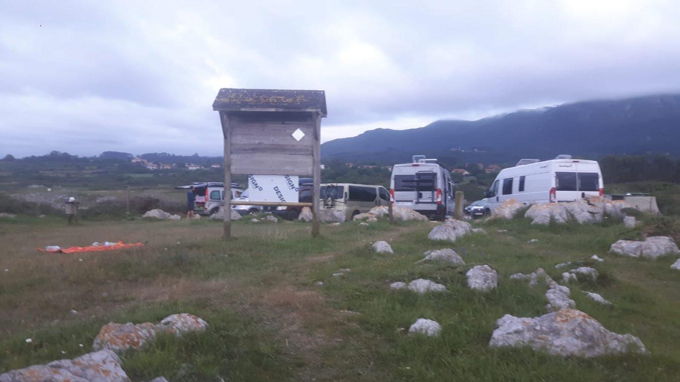 Para el Ayuntamiento de Ribadesella no son comparables las pernoctas de autocaravanas de Vega y Cuerres