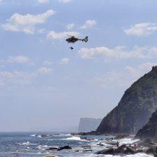 La Guardia Civil descarta una muerte violenta de la mujer hallada esta mañana en un acantilado de Ribadesella