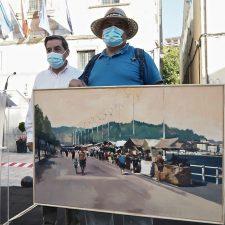 González-Columé gana por segundo año consecutivo el Certamen de Pintura de Ribadesella