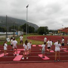Finaliza la primera semana del Campus de Atletismo que el COA organiza en Posada
