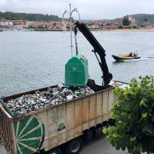 Cogersa vacía todos los contenedores de vidrio colocados en la villa de Ribadesella