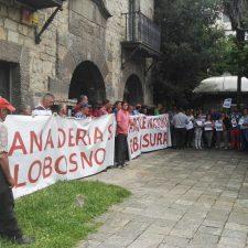 Los ganaderos de Picos convocan una nueva concentración de protesta contra el lobo para este viernes en Cangas de Onís