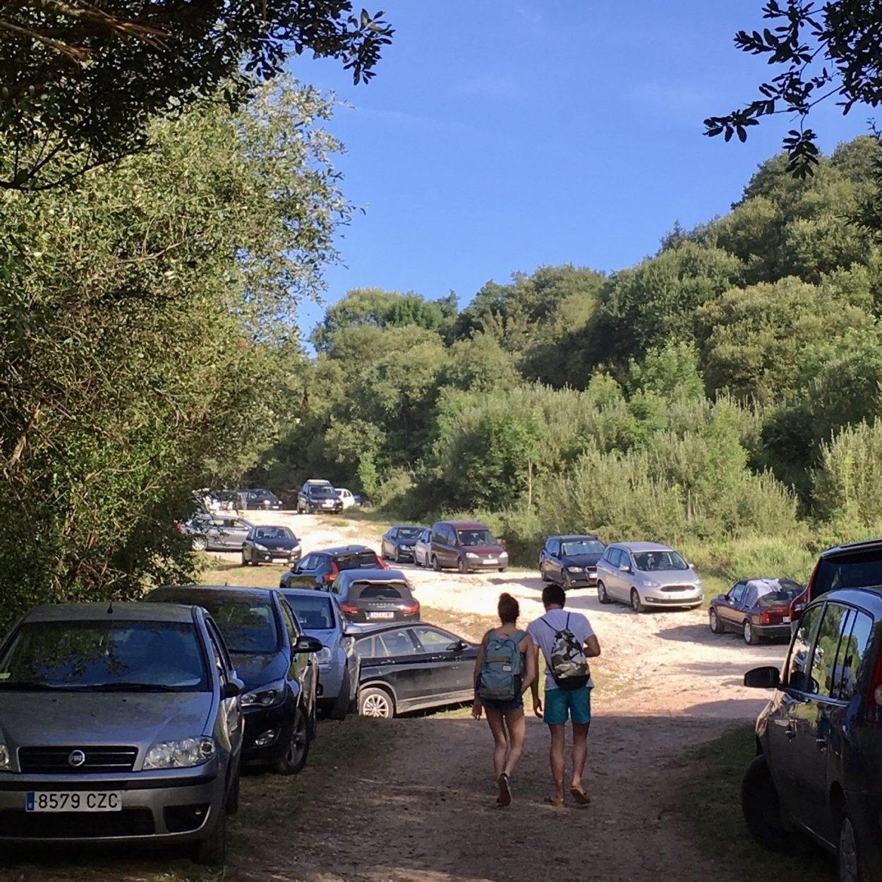 Los carteles de la autovía informarán sobre cualquier corte en el acceso a la riosellana playa de Vega