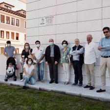 Homenaje póstumo a José Luís Valdés en la inauguración y bendición del Edificio Toraño de Ribadesella