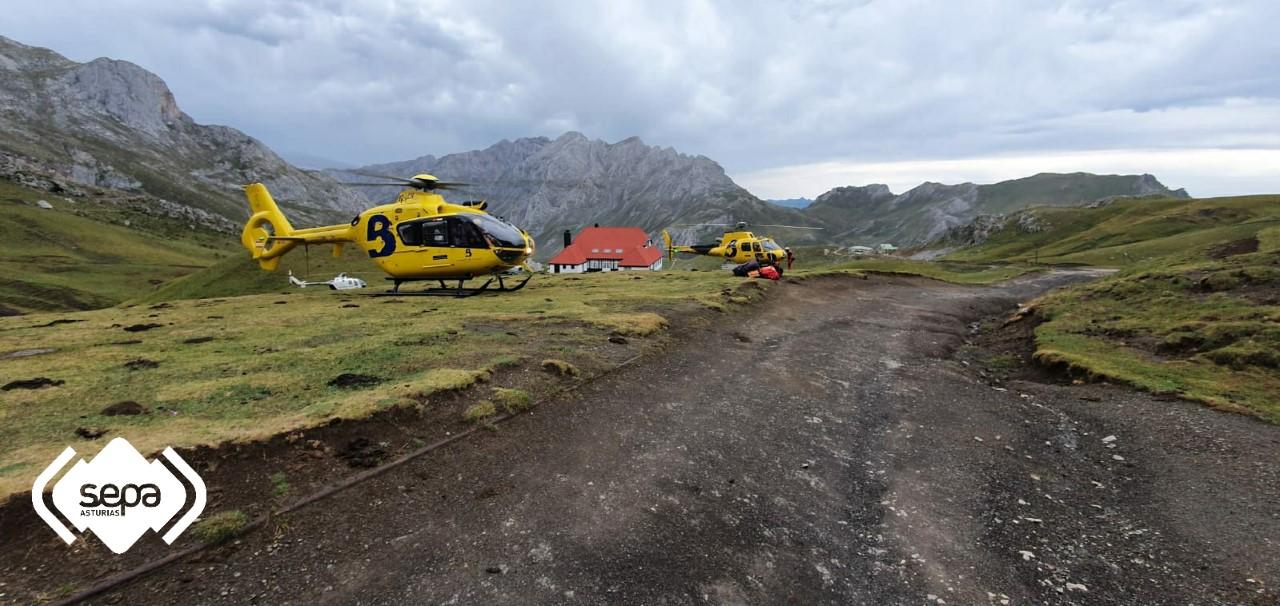 Fallece un montañero que escalaba el Espolón de los Franceses, en los Picos de Europa