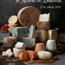 Mas de treinta variedades de queso artesano se exponen este sábado en la feria de Ribadesella
