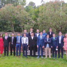 Graduación de la primera generación de bachilleres en el IES El Sueve de Arriondas