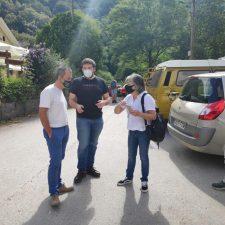 IU pide una solución al tráfico en el acceso a la Olla de San Vicente, en Cangas de Onís