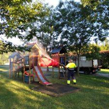 Ribadesella abre al uso público todos sus parques infantiles del concejo con desinfección diaria