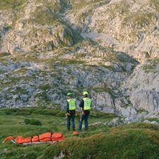Un montañero fallece de un infarto en el refugio de Vega de Ario, en los Picos de Europa