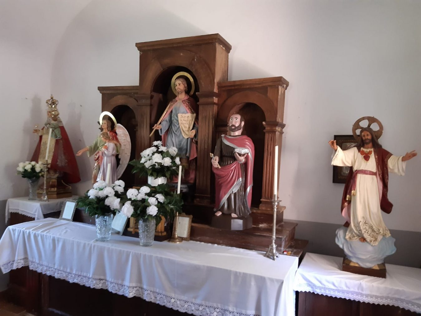 Los pueblos cangueses de Cabielles, Nieda y Narciandi honran a San Cosme
