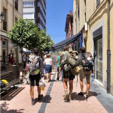 La ocupación del albergue de peregrinos de Ribadesella ha caído un 85% en lo que va de año