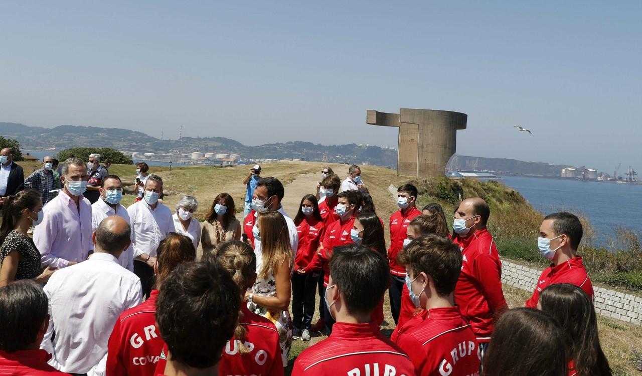 Los Reyes de España cierran en Asturias su gira por las Comunidades Autónomas en el verano de la pandemia