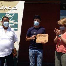 Rodrigo Cuevas ye mas mundial gracias al Premio Alcuentros que hoy recibió en Colunga