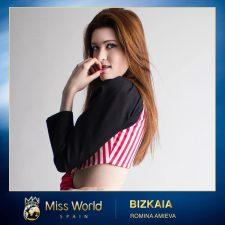 La modelo riosellana Romina Amieva participará este mes en la Gala Miss Mundo España 2020