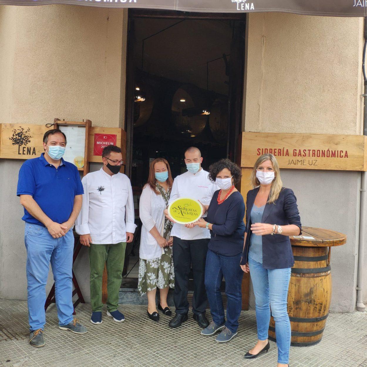 Las marcas de calidad turística Mesas y Sidrerías de Asturias incorporan nuevos miembros del oriente