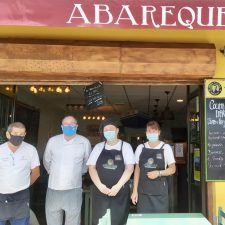 Hoy reanudaba su actividad Abareque, la sidrería de Ribadesella que se vio obligada a cerrar por el brote
