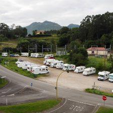 El verano de 2020, marcado por la pandemia y la proliferación de autocaravanas en Ribadesella