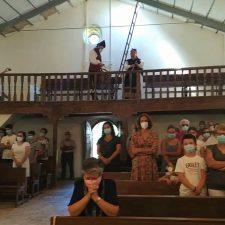 Bobia y Demués se unen en honor a la Virgen de las Nieves con misa, pero sin procesión