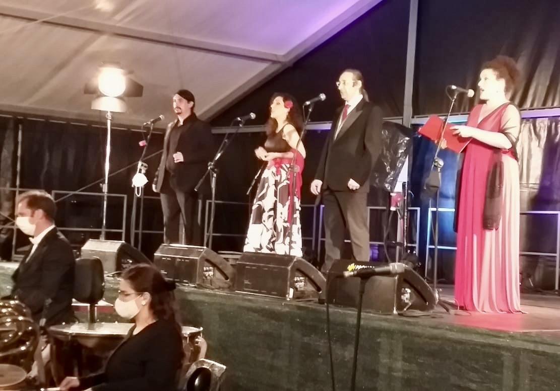 Impresionante concierto de la Joven Orquesta Clásica de Arriondas en la capital parraguesa