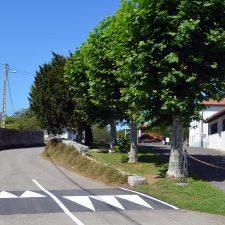 El pueblo de Hontoria ya dispone de dos reductores de velocidad tipo lomo de asno