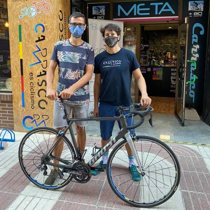 Un vecino de Parla unirá su pueblo con Los Lagos de Covadonga en bicicleta para cumplir con una promesa a su sobrino Diego